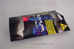 custom printed plastic zip lock bags