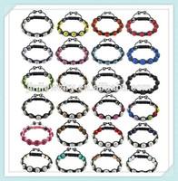 2014 wholesale macrame shamballa macrame bracelets