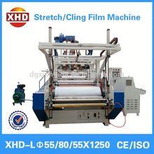 high qualit pe stretching film/cling film extrusion machine