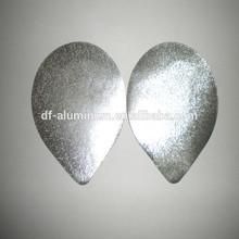 Best quality embossed aluminium foil lids