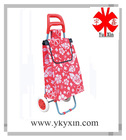 600D polyester of trolley shopping bag