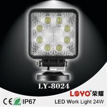 Good quality offroad pensil beam 12v led work light,24 watts led work lamp