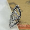 Nuovo modello anelli in stile vintage, romana anelli militare