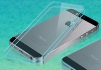 2014 High quality Ultra Thin 0.5mm Transparent Crystal Clear soft TPU Case for iPhone5/5s/6 SK010