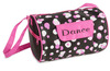 New Girls Dots for Dance Duffle Bag Black&Pink