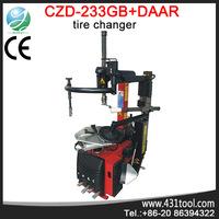 Super automatic tire changer C233GB-DAAR Tilt back tyre fitting machine