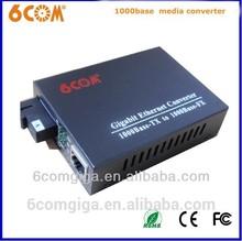 High performance 10/100/1000M Gigabit Media Converter convert media