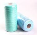 nuevo de poliéster de alta calidad de oficina todos los días del tubo de tejido antibacteriano mini muebles de una sola mojado hasta spunlaced no tejido toallitas de limpieza