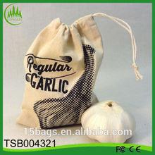 Alibaba china new products 2014 canvas shopping vegetable drawstring bag