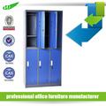 Bloqueável 6 porta de aço de alta qualidade armários armário guarda-roupa