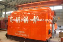 DZH manual feeding boiler coal fired