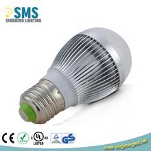 high lumen aluminum 3w 5w 7w 9w 12w e27 3 watt led bulb