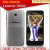Chinese famous brand Lenovo S660 MTK6582 Quad Core Android 4.2 telephone cell phone 3g original