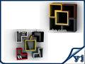 Mural étagère cube/en bois plateau flottant/cube mur shelfwooden étagère murale design