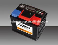 JIS standard 12v lead acid car battery 65ah 75D23R maintenance free SMF automotive battery