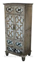 Antique Gold Tallboy Dresser/Chest/Cabinet