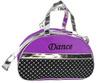 Embroidery Dance Purple&Metallic Sequin Half Moon New Girls Dance Bag