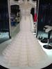 Sexy Plunging Neckline european wedding dress