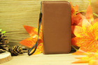2014 New leather folding wallet case for LG G2 MINI with soft tpu gel case inside ,without flap