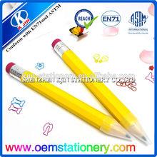 38*3.5cm wooden jumbo pencil /giant wooden pencil/big pencils for kids
