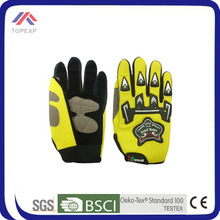 fashion neon winter bicycle heated gloves