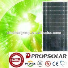 100% TUV Standard high efficiency high quality mono solar panel production
