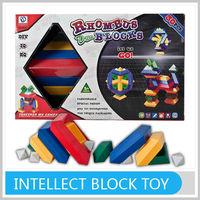 DIY Building Blocks Bricks Toys Preschool Plastic Pyramid Puzzles