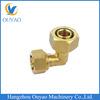 Brass pex elbow for pex pipe