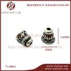 cheap religious bead china silver payal