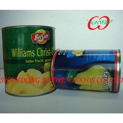 Delicious hot sell 2014 new crop canned fruit pear in ls manufacturer