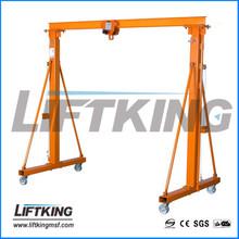 A frame portable MINI/small gantry crane