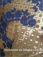 New Design Golden Background PVC Wedding Tablecloth