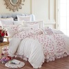 KOSMOS 100% cotton embroidery decorative bedding sets embroidered bed sheet set home texitle