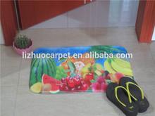 Anti-slip 100% nylon water absorption cheap printed stone door mat