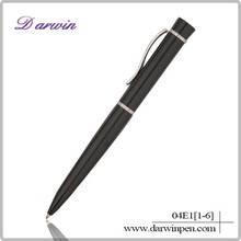 2014 best quality metal black highlighter pen
