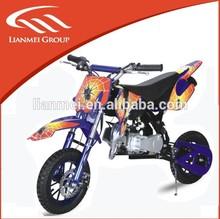 2 wheel mini dirt bike 49CC engine two stroke dirt bike