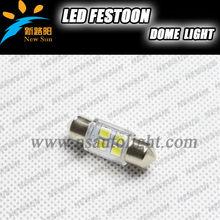 Hottest 6SMD 2835 LED car interior lights 12v 36mm led festoon dome lights for all vehicles