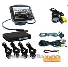 2015 DLS High quality 3.5inch mirror rear view car parking sensor