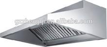 Stainless steel resturant kitchen range hood,cooker hood,kitchen hood prices price ZQS-L