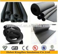 Kingflex High Quality Heat Resistant Rubber Foam Insulation Sleeve