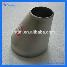 "Baoji Tianbang Manufacturers Low Price ASTM B363 4"" SCH 10S Gr2 Titanium Eccentric Reducer"