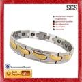 magnética diferentes modelos de joyas de diseño más reciente de las niñas brazaletes de oro