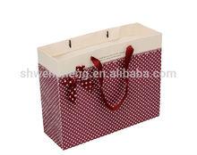 2014 elegant custom sheer mesh drawstring gift bags