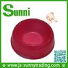 Sunny Pet Product Cute Red Dog Bone Shape Pet Bowl PP Wholesale Folding Pet Water Bowls