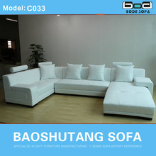 2014 Home furniture U shape sofa for hot sale C033