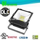 Top quality IP65 UL cUL(UL NO.E352762) DLC 80w solar LED flood light