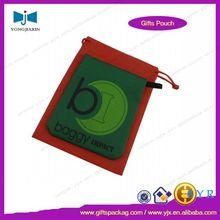 2014 colored logo printed small nylon shopping bag
