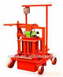 QMJ2-45 small bricks and blocks machinery indonesian nude paking egg laying mobile block machine