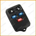 No logo ford auto remote control key covers fobs 5 buttons black color car key whole sale