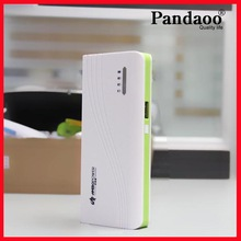 Built in Li battery 15000mah mobile phone usb power bank